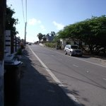 Calle donde esta ubicada Villa Punta Salina
