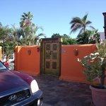 Entrada de Villa Punta Salina