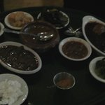 Sauces at Mesob restaurant - Montclair NJ