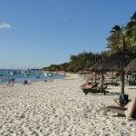 beach at Trou aux biches