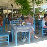 Lunch on the beach at Antonis