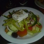 free greek salad at Hypocrates