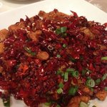 Sichuan Spicy Chicken 辣子鸡, very spicy but nice