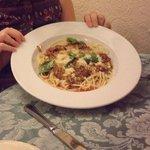 Vegetarian Tomato Spaghetti