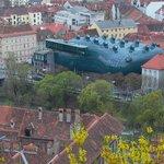 """Kunsthaus Graz, aus dem Portfolio """"Styrian Landscapes"""""""