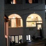 Hotel Londos at night