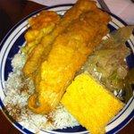 Blue Plate - Fish