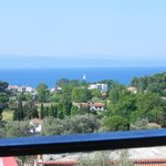 View from our balcony, it was a WOW factor when Christos took us to it