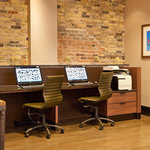 Business Center for all of your printing and Internet needs
