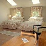 Large spacious bedroom suite