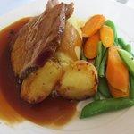 Roasted Shetland Leg of Lamb