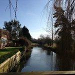 Semington Brook - taken from the Bridge at Willow Tree  Barn