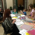 origami afternoon activity @ rotary house