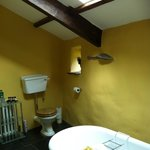 Big ensuite bathroom in the Annexe
