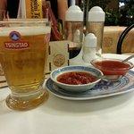 Birra cinese e salse