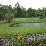 le lac et piscine naturelle