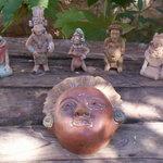 mascarones recreacion maya