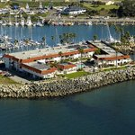 Aerial View of the Oceanside Marina Suites