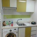 Basin & washing machine