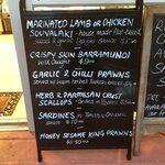 Tathra seafoods specials