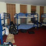 Pic of the large dorm room