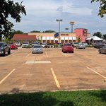 Chuy's in Norman offers ample parking, but it's usually full during peak times (Friday/Saturday)