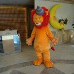 Lion will give you a big hug