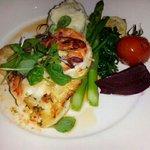 Saturday special-halibut and prawn