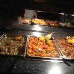 stews chicken fish and lamb