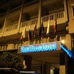 Вход в Наш прекрасный отель
