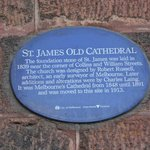 Heritage Plaque for St James' Old Cathedral