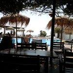 il bar piscina del villaggio