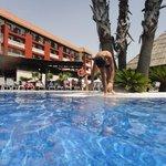 Pool at Barceló Isla Cristina, Huelva. España