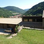 Hotel located above Ribes de Freser