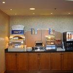 Express breakfast bar