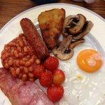 yum small English breakfast