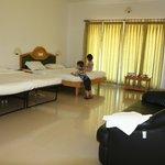 Zimmer mit 2 Extrabettten