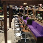 Our lovely beer garden