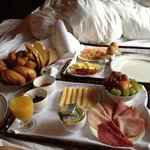 Frühstück ins Bett