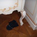 proprete de la chambre....
