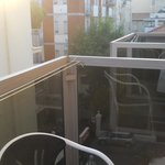 Il balcone della camera 306
