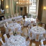 Wedding set-up in Ballroom