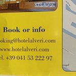 booking info