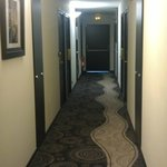 Hallway ro the room