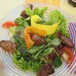 Salade d'agneau