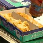 Yumm, Manchipster Plaice Fish & Chips!