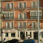 La facciata del hotel