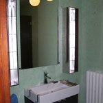 douche chambre blanche