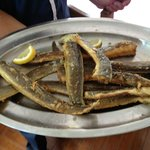 piatto di anguille fritte