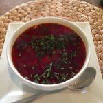 Borsch without the sour cream.